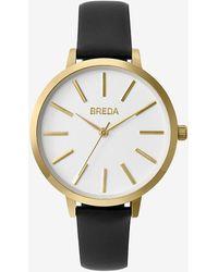 Express Breda Black Joule Watch - Metallic