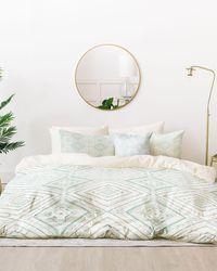 Express Deny Designs Dash Diamond Bed In A Bag Set Green King