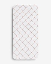 Express Large Scale Full Fishnet Tights - White
