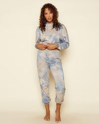 Express Dippin' Daisy's Tie-dye Lounge Joggers - Multicolour