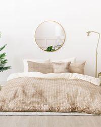 Express Deny Designs King Zen Tile Bed In A Bag Set Khaki - Brown