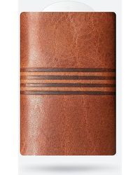 Express Zeroz Red Earth Canyon Heatsink Skinny Wallet Brown