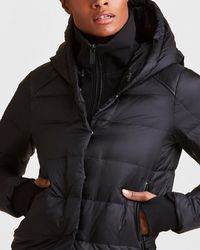 Express Alala City Puffer Jacket Black M