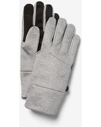 Express Heat Tech Touchscreen Compatible Gloves Grey - Gray