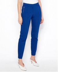 Express - Mid Rise Zip Pocket Ankle Curve Pant - Lyst