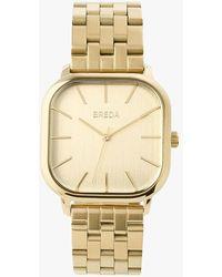 Express Breda Gold Visser Watch Gold - Metallic