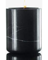 Express Willow Lane Home Sandalwood Soy Candle Black