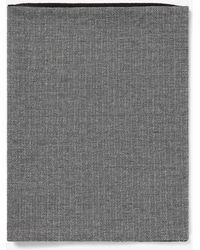 Express Herringbone Snood - Gray