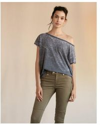 Express | Off The Shoulder London Tee | Lyst