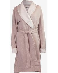 Express Ugg Duffield Robe Brown S
