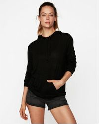 Express - One Eleven Drawstring Pullover Hoodie - Lyst