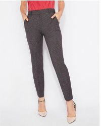 Express - D Rise Tweed Ankle Columnist Pant - Lyst
