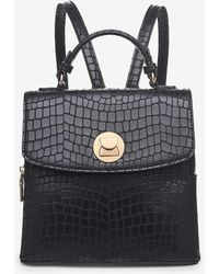 Express Moda Luxe Layne Backpack Black