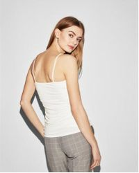 Express | Ruched Cami | Lyst
