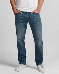 Express - Classic Straight Light Wash 365 Comfort Jeans, Men's Size:w36 L30 - Lyst