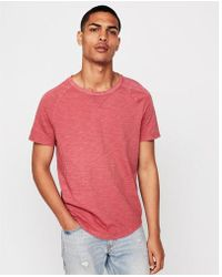 Express - Garment Dyed Crew Neck Tee - Lyst