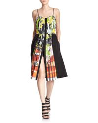 Clover Canyon Amber Plaid Dress multicolor - Lyst