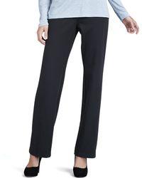 Eileen Fisher Straightleg Ponte Pants - Lyst