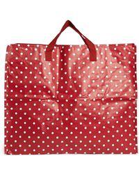 Asos Jumbo Red Spot Storage Bag - Lyst