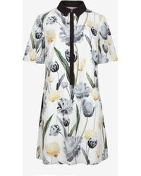 Ted Baker Paper Petals Shirt Dress - Lyst