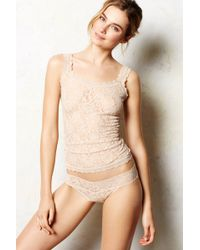 Hanky Panky Sheer Lace Camisole - Lyst