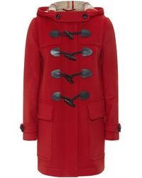 Burberry Brit Finsdale Straight Fit Duffle Coat - Lyst