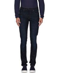 J Brand | blue Denim Trousers | Lyst