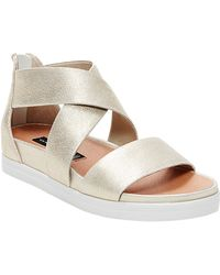 Steven by Steve Madden Florence Suede Strappy Open-toe Sandals - Multicolour