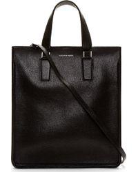 Alexander McQueen Black Buffalo Lux Messenger Bag - Lyst