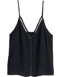 H&M Woven Top - Lyst