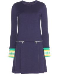 Marc By Marc Jacobs Jayden Stretch-Wool Dress - Lyst