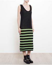 Tak.ori Wool-alpaca Patterned Knit Dress - Lyst