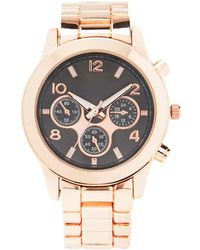 Forever 21 Classic Chronograph Watch - Pink