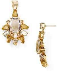 Kate Spade Formal Facets Chandelier Earrings - Lyst