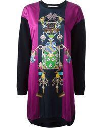 Mary Katrantzou Knipi Sweater Dress - Lyst