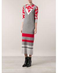 Viktor & Rolf Printed Knit Dress - Lyst