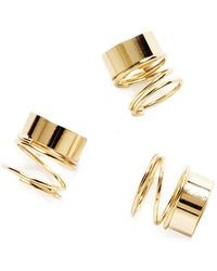 Pixie Market - Chronicle Gold Ring - Lyst