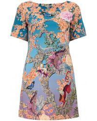 Mary Katrantzou Gaynor Shift Dress multicolor - Lyst