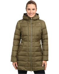 The North Face Green Gotham Parka - Lyst