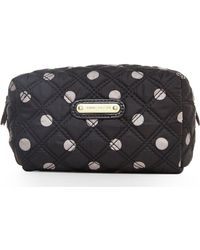 Anne Klein Polka Dot Quilted Cosmetic Case - Lyst
