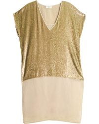 Day Birger Et Mikkelsen Show Dress gold - Lyst