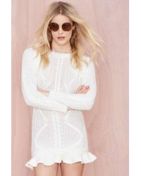 Nasty Gal Unif Alleger Sweater Dress - Lyst