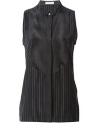 Equipment Wingtip Collar Pin Striped Shirt - Lyst