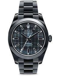 Bamford Watch Department - Rolex Milgauss Oyster Perpetual Watch - Tartan - Lyst