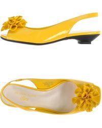Anne Klein Sandals - Yellow