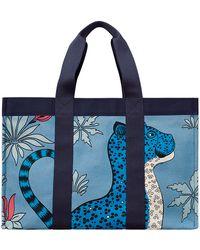 Hermès Leopards blue - Lyst