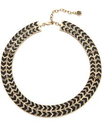 House of Harlow 1960 - Blackbird Collar Necklace Blackgold - Lyst