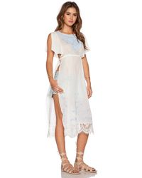 Free People Sugar Brunch Tunic - Lyst