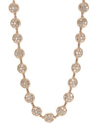 Roberto Marroni Micro Baby Sand Necklace - Metallic