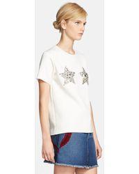 Marc Jacobs Women'S Star Embellished Sweatshirt - Lyst